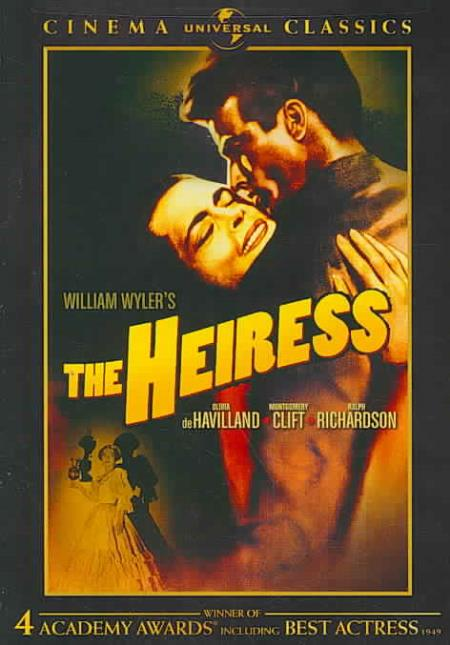 The Heiress DVD Cover Art