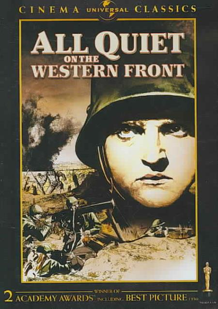 All Quiet on the Western Front DVD Cover Art