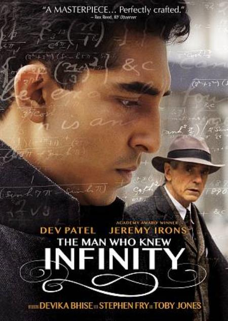 The Man Who Knew Infinity DVD Cover Art