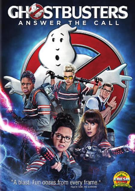 Ghostbusters DVD Cover Art