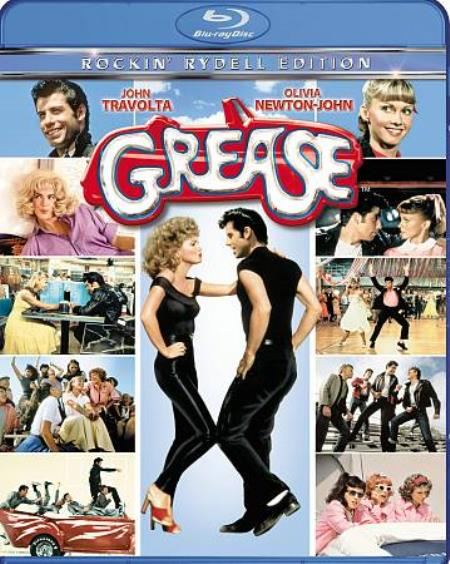 Grease Blu-ray Cover Art