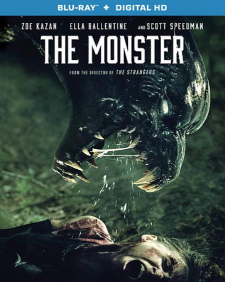 The Monster Blu-ray Cover Art
