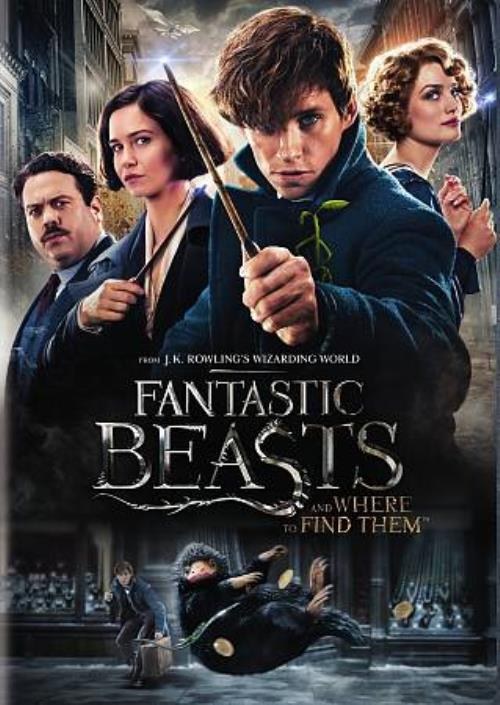 Fantastic Beasts And Where To Find Them New Dvd