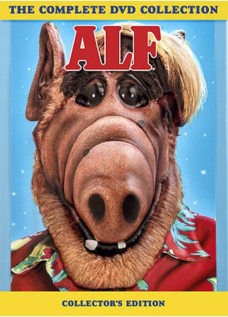 The Alf Collection: Seasons 1-4 DVD Boxset Cover Art
