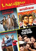 The Interview/The Night Before/Pineapple Express/This Is the End DVD Boxset Cover Art