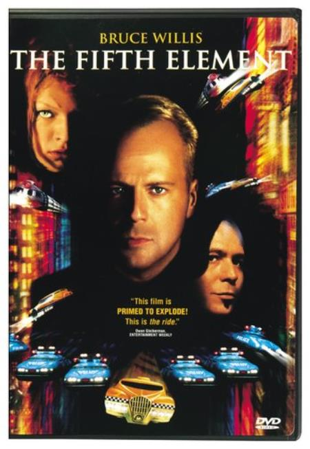 The Fifth Element DVD Cover Art