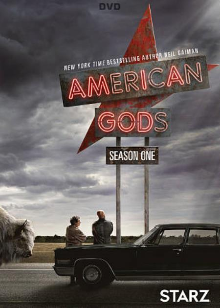 American Gods: Season 1 DVD Cover Art