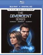 The Divergent Series: 3-Film Collection Blu-ray Cover Art