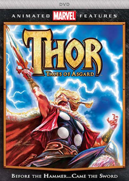 Thor: Tales of Asgard DVD Cover Art