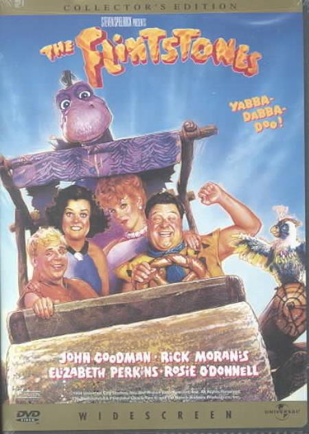 The Flintstones DVD Cover Art