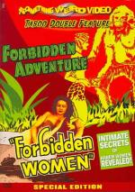 Forbidden Adventure/Forbidden Women DVD Cover Art