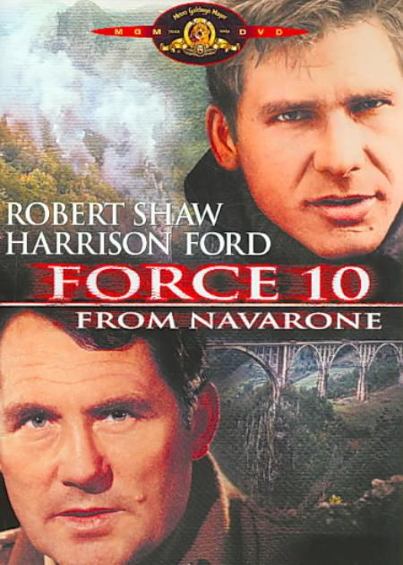Force 10 From Navarone DVD Cover Art