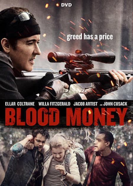 BLOOD MONEY DVD Cover Art