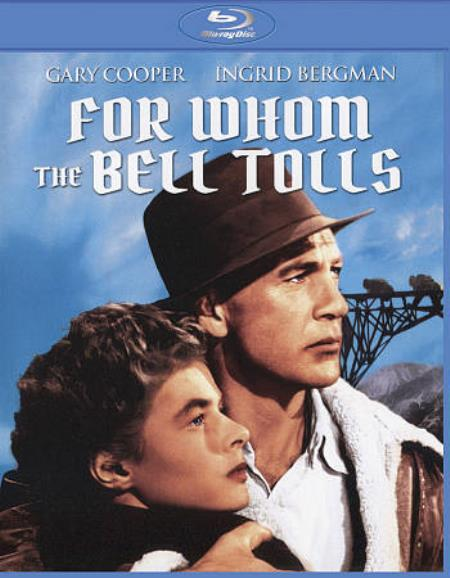 For Whom the Bell Tolls Blu-ray Cover Art