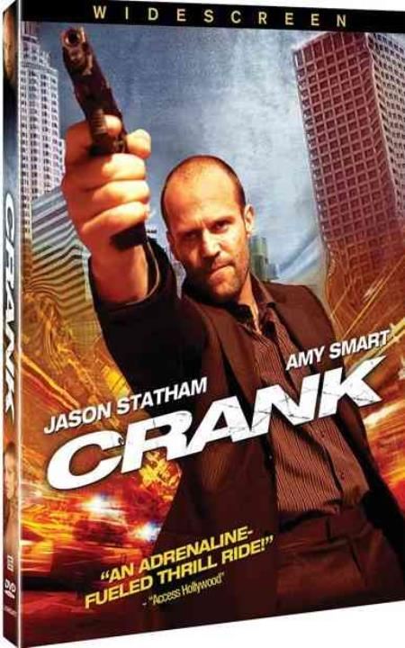 Crank DVD Cover Art