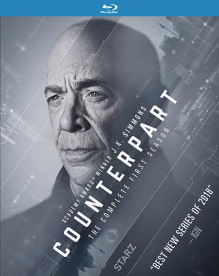 Counterpart: The Complete First Season Blu-ray Cover Art