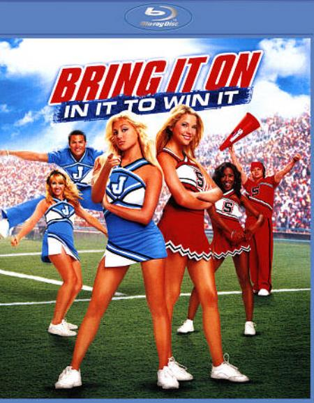 Bring It On: In It to Win It Blu-ray Cover Art