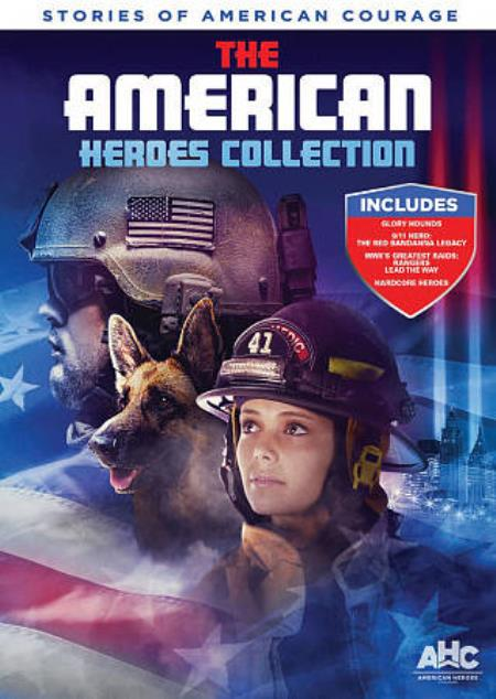 American Heroes Collection DVD Cover Art
