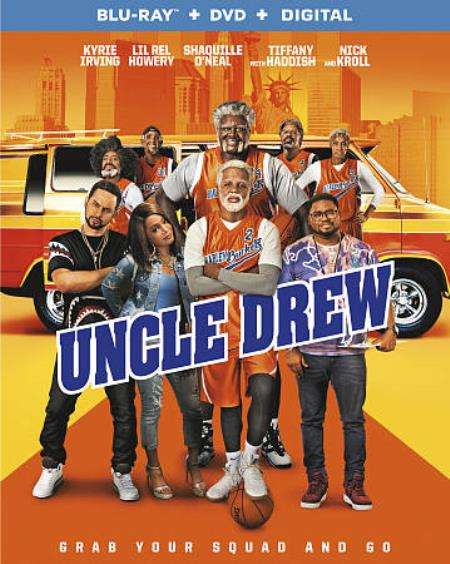 Uncle Drew Blu-ray/DVD Cover Art