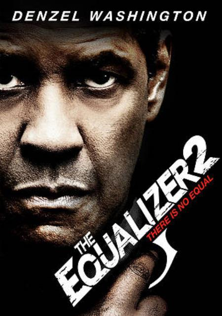 Equalizer 2 DVD Cover Art