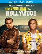 Once Upon a Time in Hollywood DVD Cover Art