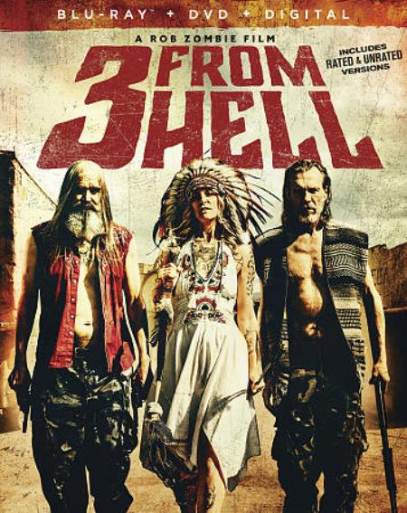 3 From Hell DVD Cover Art