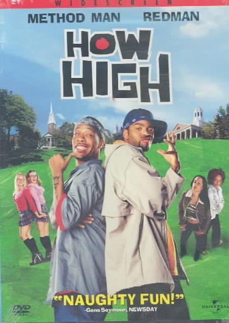 How High DVD Cover Art