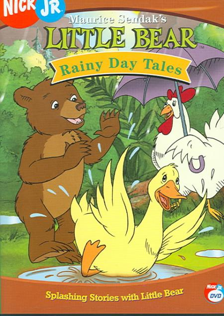 Little Bear - Rainy Day Tales DVD Cover Art