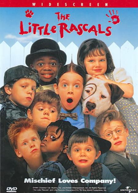 The Little Rascals DVD Cover Art