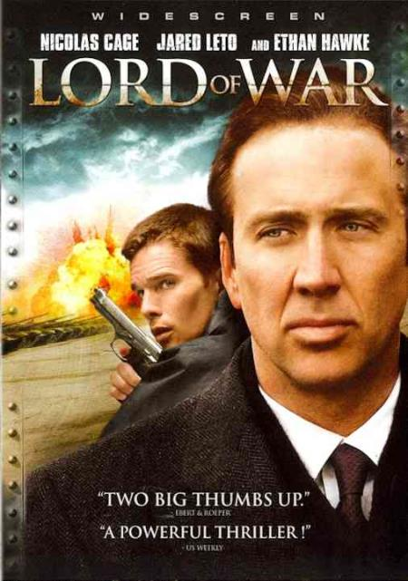 Lord of War DVD Cover Art