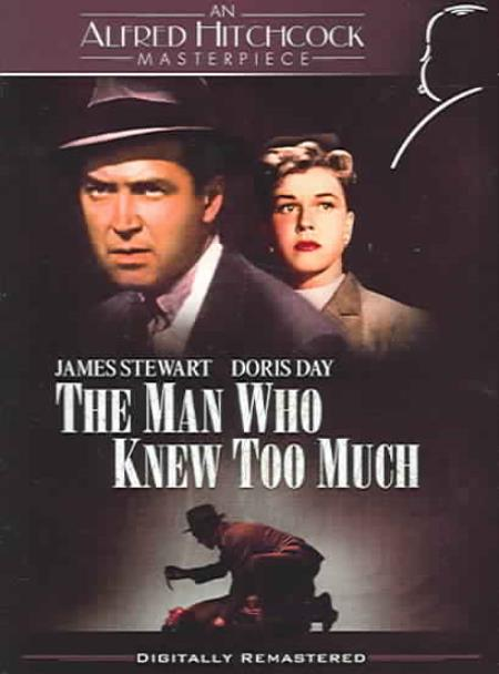 The Man Who Knew Too Much DVD Cover Art