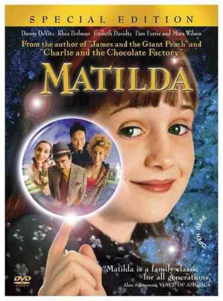 Matilda DVD Cover Art