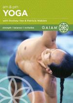 A.M. And P.M. Yoga for Beginners DVD Cover Art