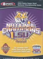 2004 Nokia Sugar Bowl National Championship Game DVD Cover Art