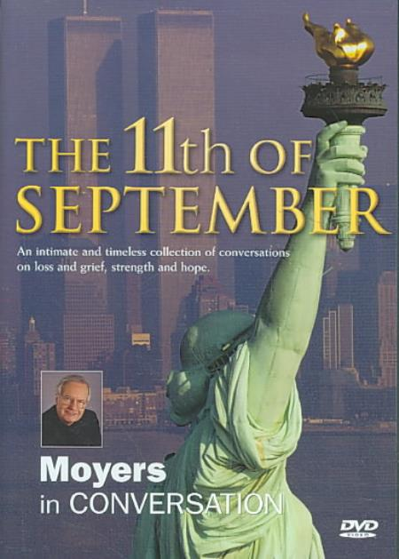 11th of September: Bill Moyers in Conversation DVD Cover Art