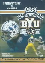 1984 Brigham Young Vs. Michigan DVD Cover Art