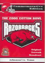 2000 Cotton Bowl - Arkansas DVD Cover Art