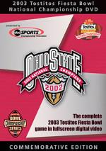 2003 Fiesta Bowl - OSU Vs. Miami, Florida DVD Cover Art