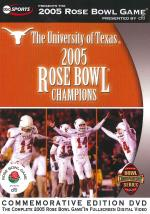 2005 Rose Bowl - Texas Vs. Michigan DVD Cover Art