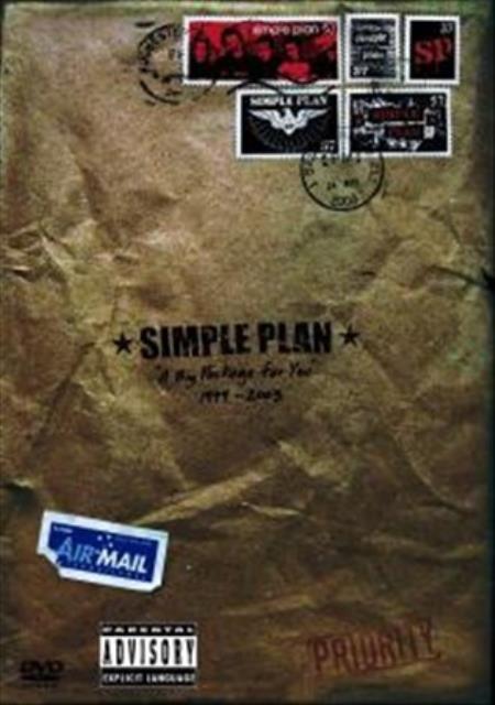 Simple Plan - A Big Package For You DVD Cover Art