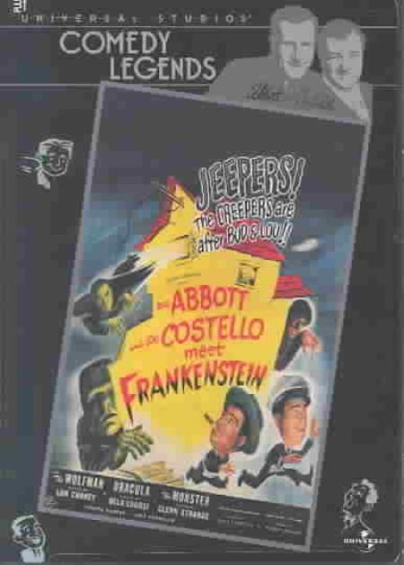 Abbott and Costello Meet Frankenstein DVD Cover Art