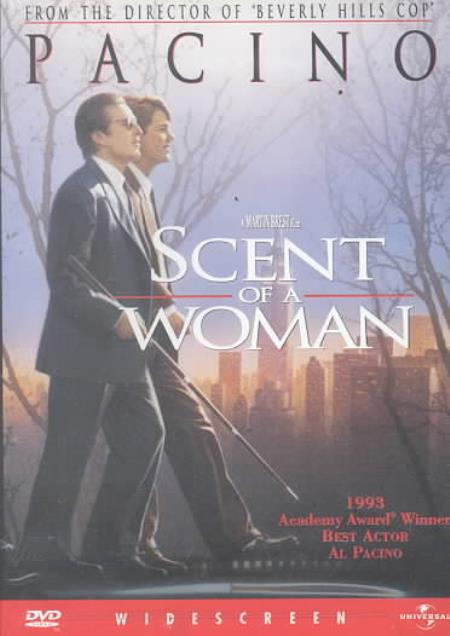 Scent of a Woman DVD Cover Art