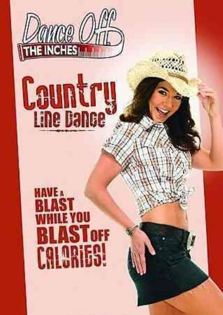 Dance Off the Inches - Country Line Dance DVD Cover Art