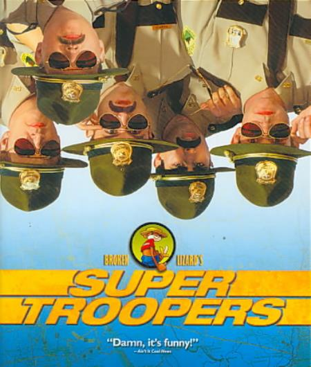 Super Troopers Blu-ray Cover Art
