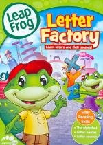 Leapfrog - Letter Factory DVD Cover Art
