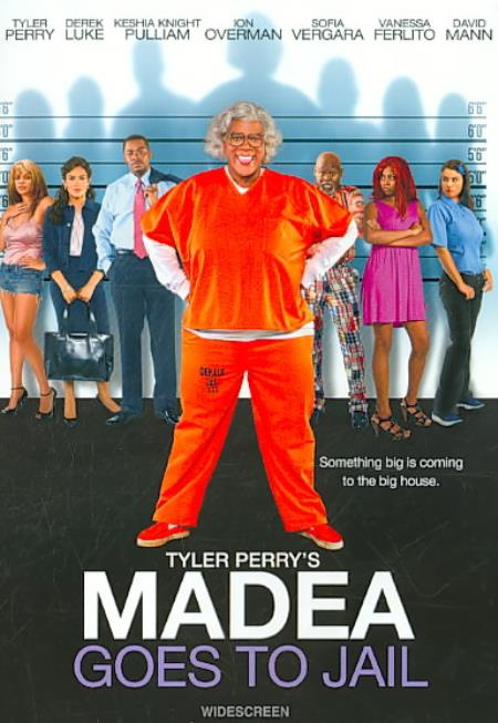 Tyler Perry's Madea Goes to Jail DVD Cover Art
