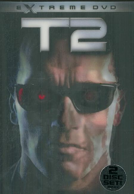 Terminator 2: Judgment Day DVD Boxset Cover Art