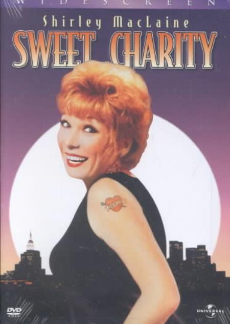 Sweet Charity DVD Cover Art