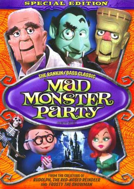 Mad Monster Party DVD Cover Art