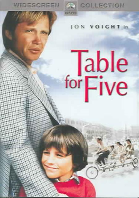 Table for Five DVD Cover Art